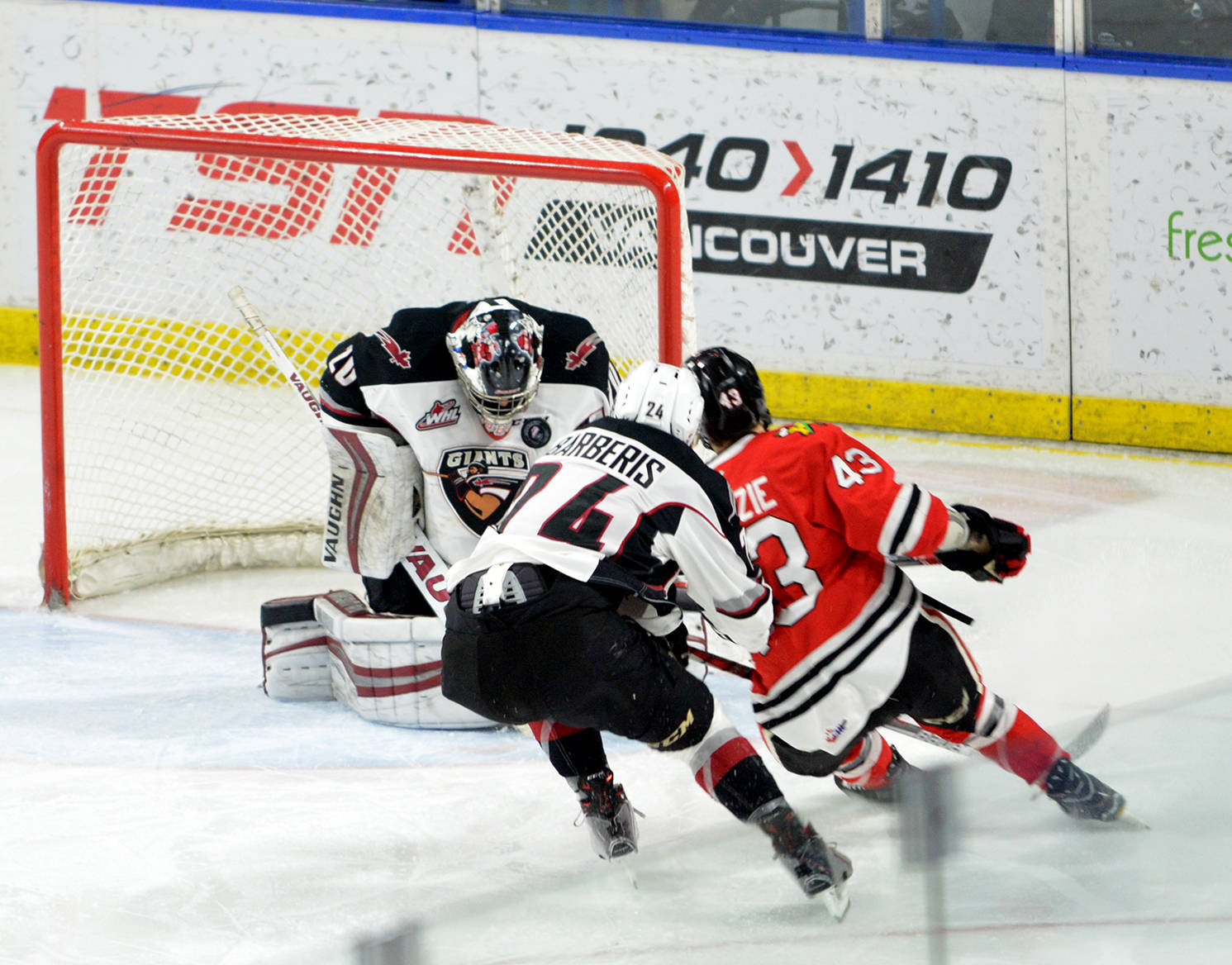 Goaltender Ryan Kubic is looking to build on a solid 2016/17 campaign as he prepares for his third season with the Vancouver Giants.                                 Gary Ahuja Langley Times file photo                                Goaltender Ryan Kubic is looking to build on a solid 2016/17 season. Kubic won both the Player's Choice (as selected by the fans) and Unsung Hero (as selected by his teammates) awards. Gary Ahuja Langley Times file photo