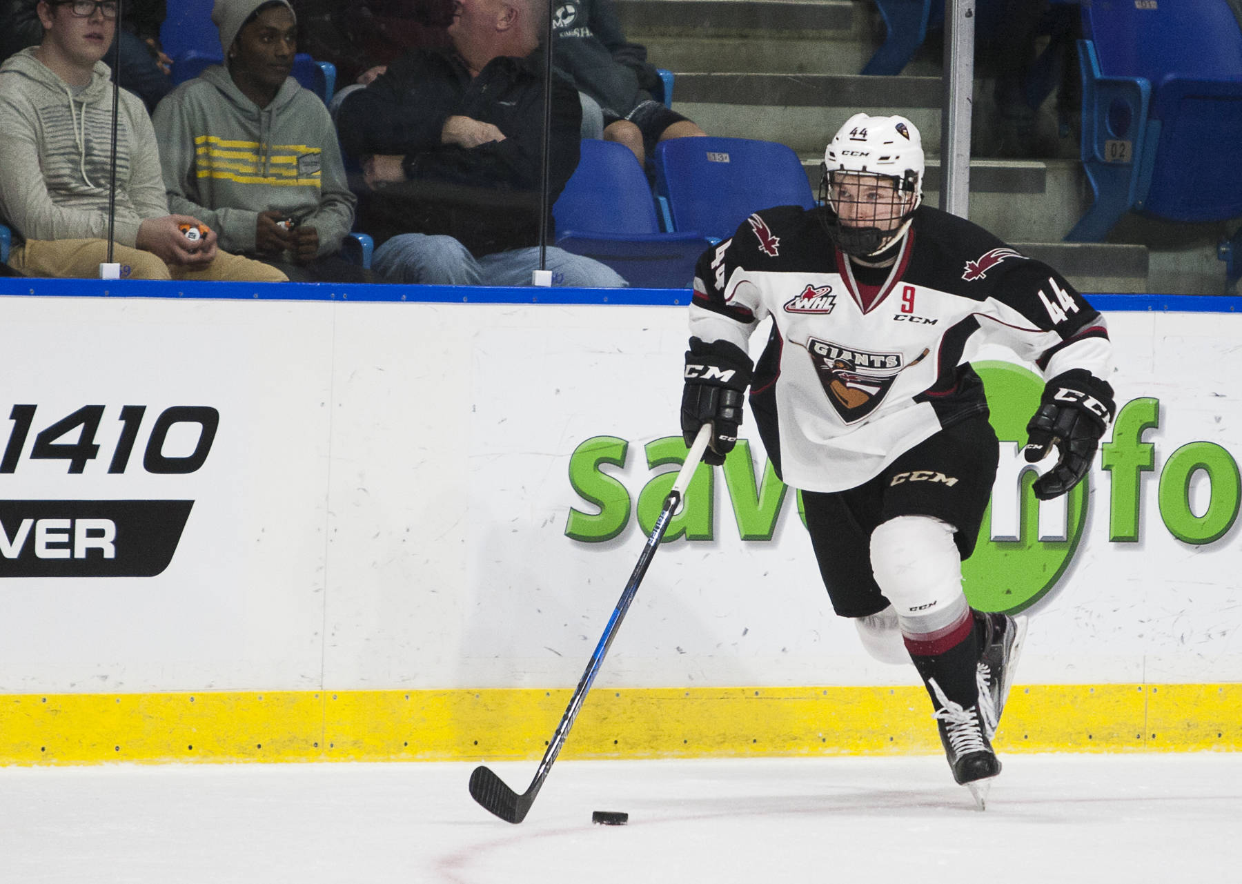 Defenceman Bowen Byram is hoping to make a big impact for the Vancouver Giants in his rookie season. CJ Relke Vancouver Giants