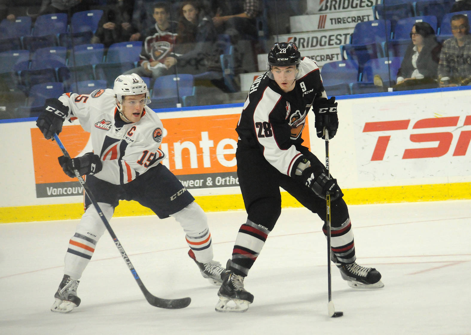 Vancouver Giants defenceman Darian Skeoch is hoping for a bounce back season after suiting up in just 27 games last year. Gary Ahuja Langley Times file photo