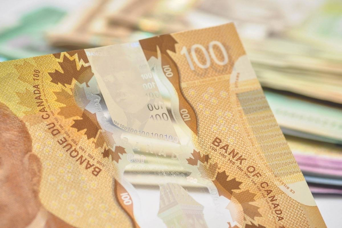 UPDATE: British Columbians pocketing almost one-eighth more income