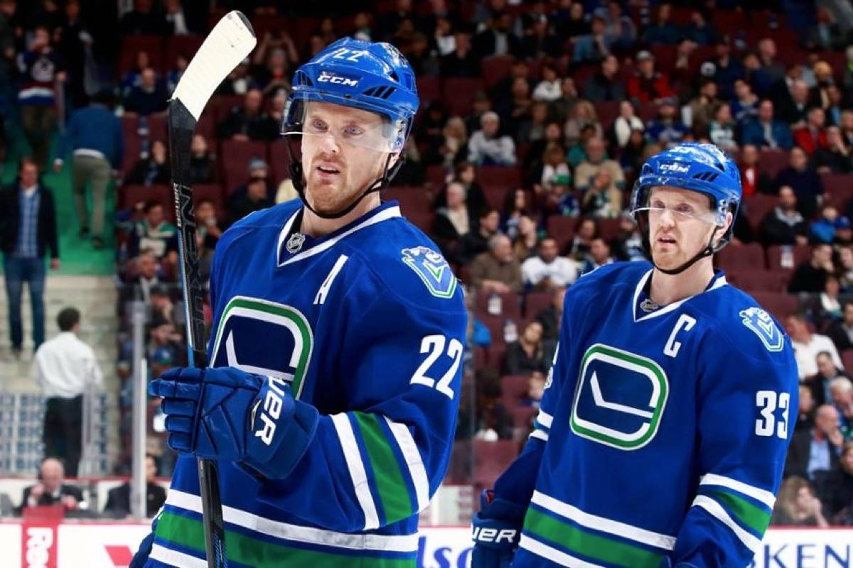 The Sedins plan to stay in Vancouver. (NHL photo)