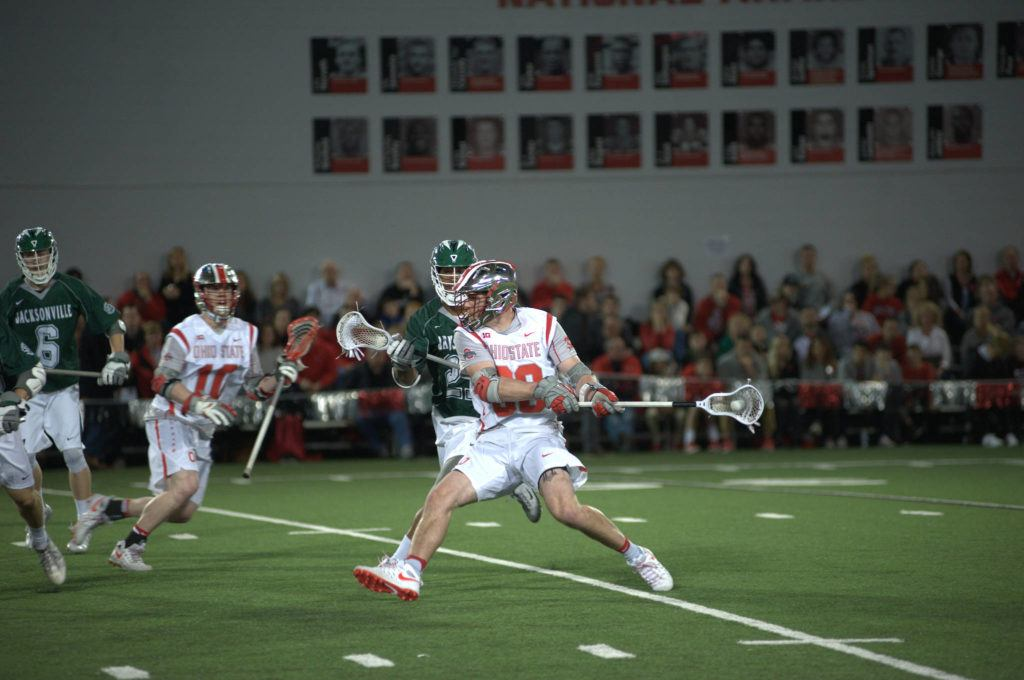Langley's Johnny Pearson wrapped up a stellar four-year career with the Ohio State Buckeyes. On Monday, the 22-year-old was drafted by the National Lacrosse League's Saskatchewan Rush.                                 Ohio State Athletics