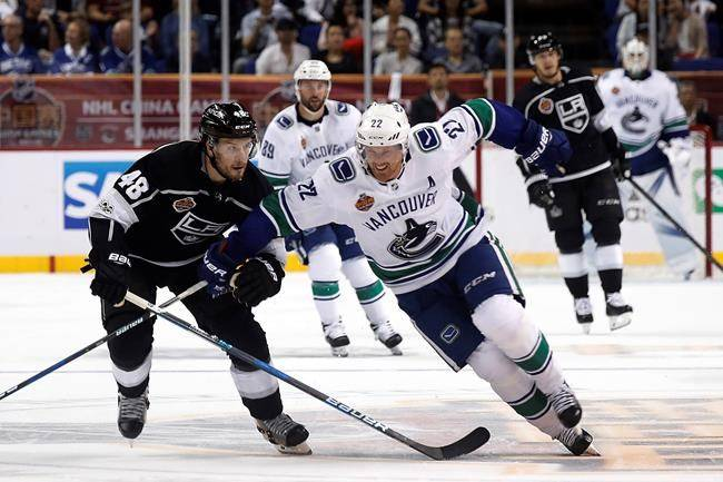 VIDEO: Canucks drop China opener to LA Kings