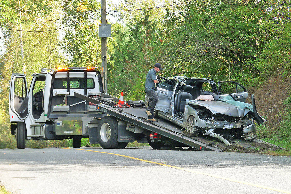UPDATED: Victim of Langley crash was not wearing seatbelt, police say (with video)