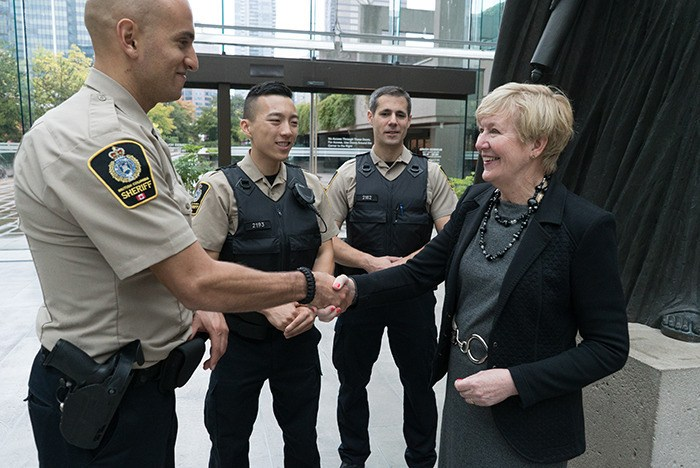 Low pay contributes to B.C sheriff shortage: Eby