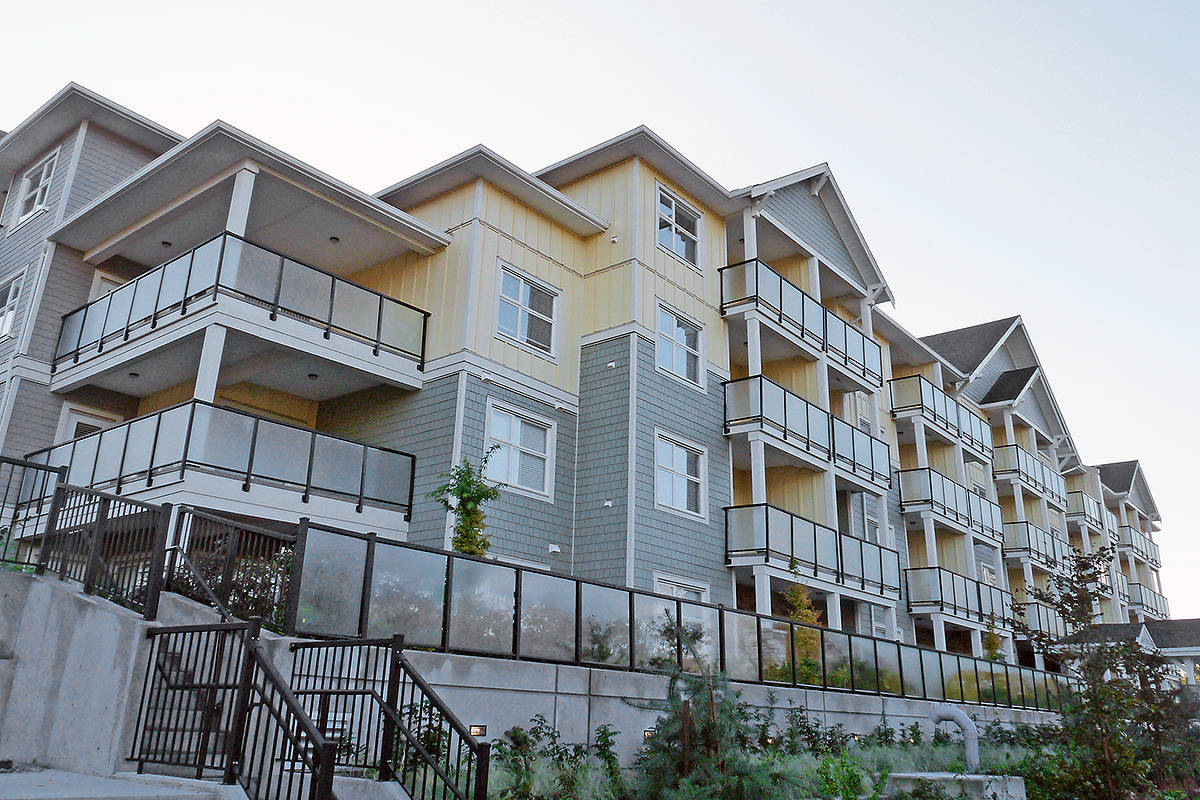 The troubled Murrayville House condo project in Langley Township is now under receivership. Dan Ferguson Langley Times