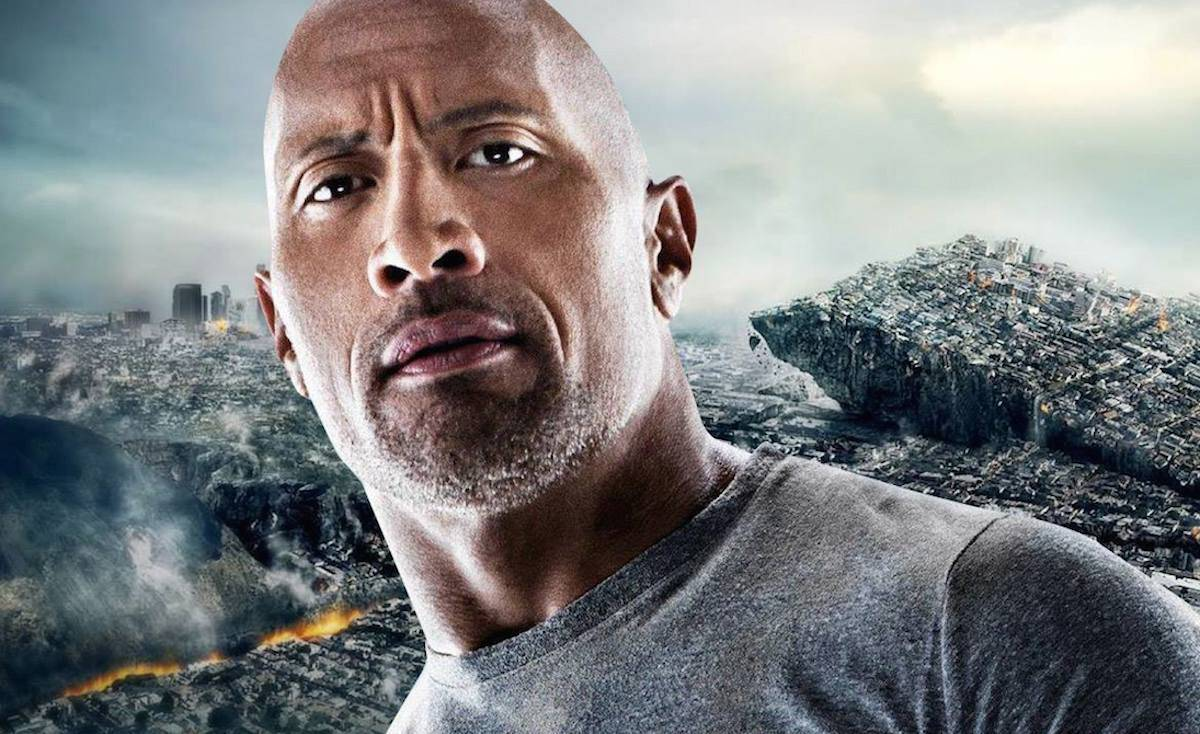 Dwayne 'The Rock' Johnson in a promo photo.
