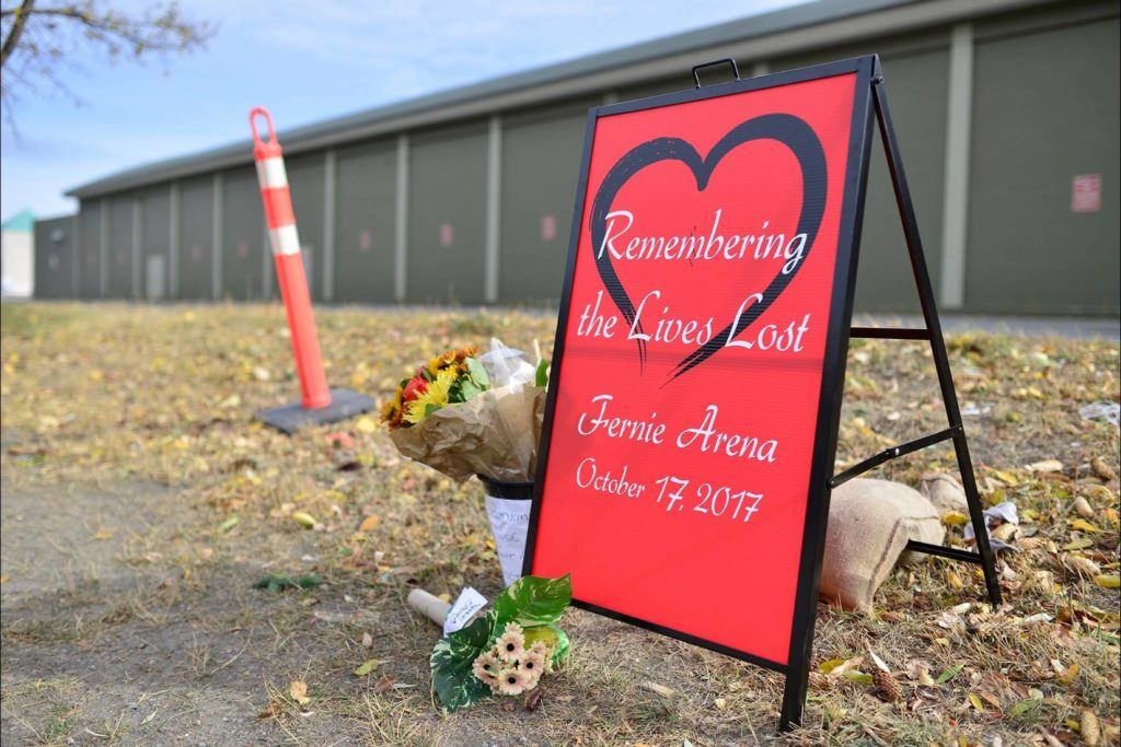 Fernie mourns after fatal ammonia leak