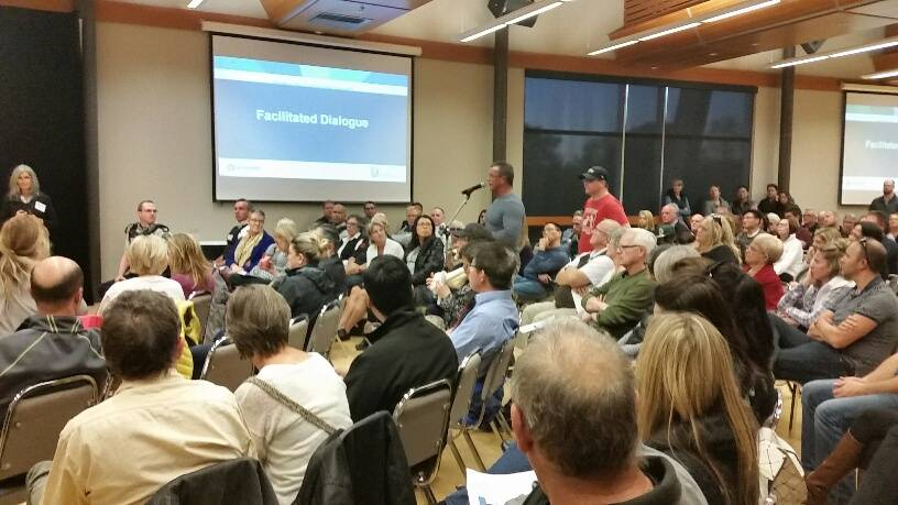 VIDEO: Hundreds show up to oppose supportive housing proposal