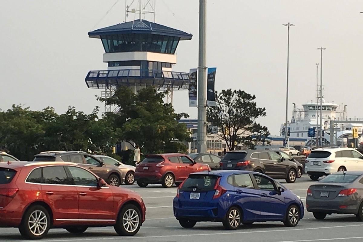 Tsawwassen ferry terminal. (Black Press files)