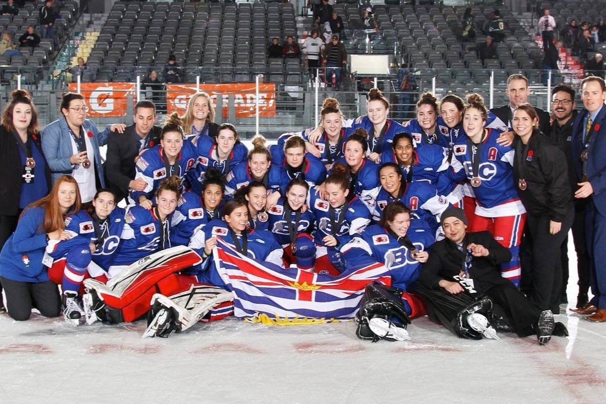 Team B.C. won second straight bronze at the nationals. (Contributed)