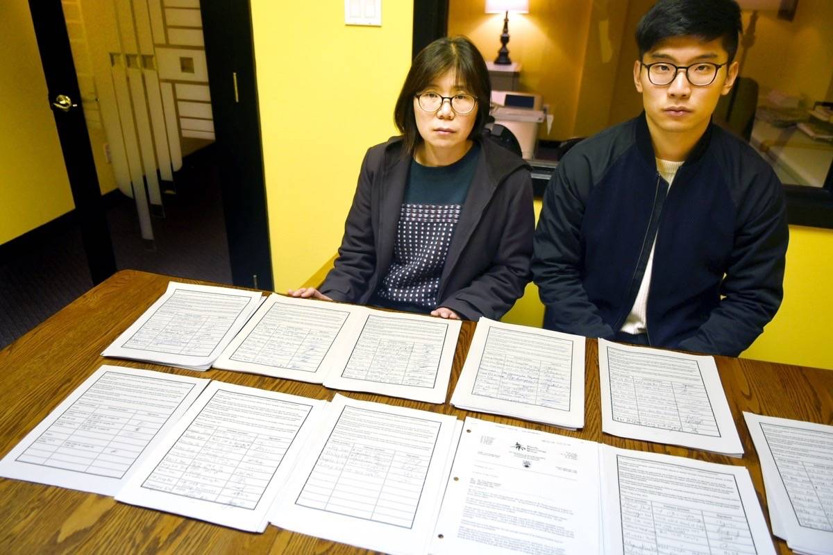 Minok Jun and Peter Chung collected more than 2,000 names on their petition to make Soliris a publicly funded medication. The B.C government announced on Nov. 20 that they would begin providing coverage on a case-by-case basis. Miranda Gathercole Langley Times