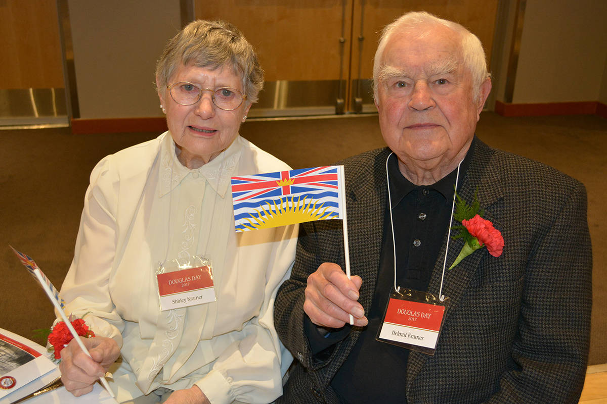 Shirley and Helmut Kramer. Submitted photo