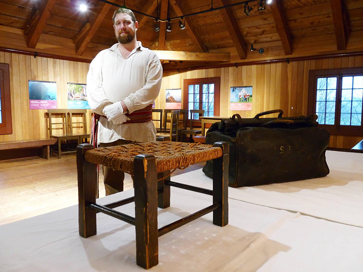 The foot stool. Dan Ferguson Langley Times