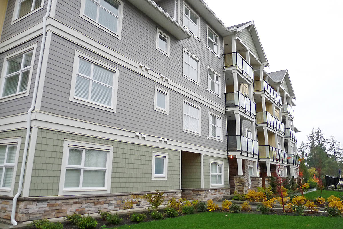 The Murrayville House condo project is only a few thousand dollars away from completion, according to a report filed in court. Dan Ferguson Langley Times