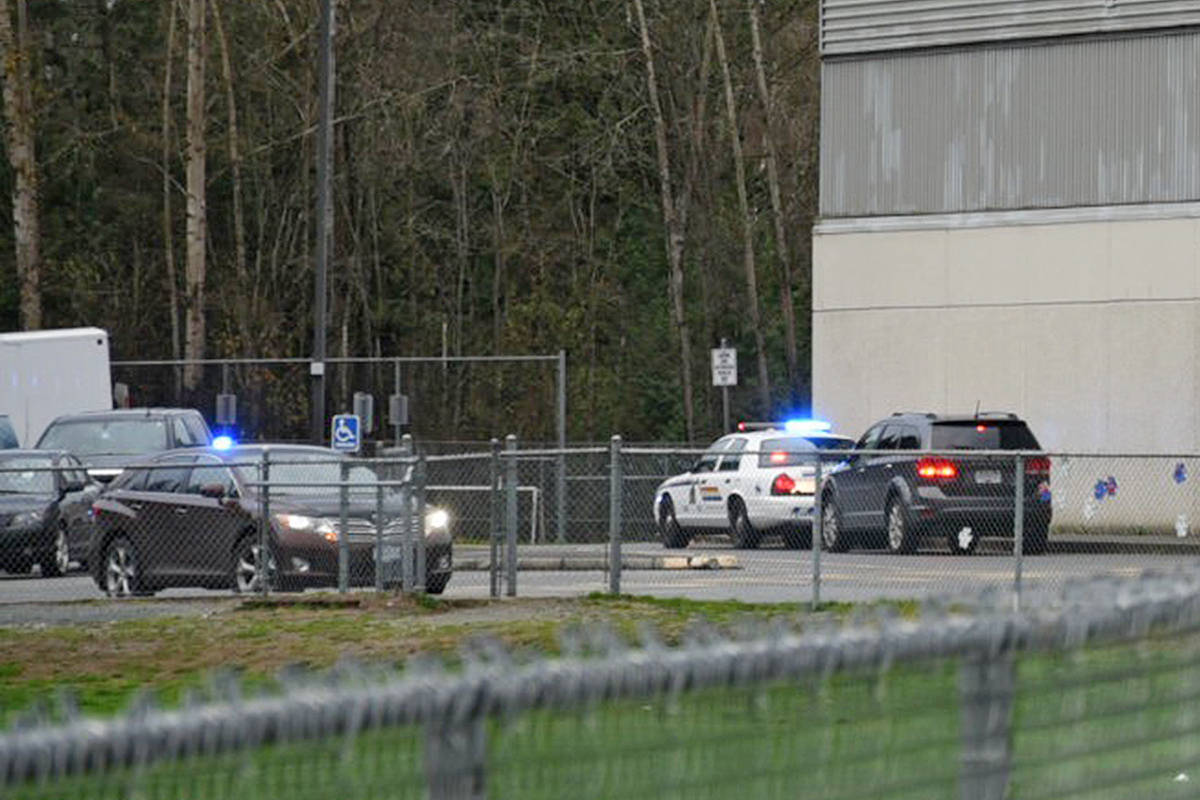 UPDATE: Brookswood Secondary lockdown lifted (with video)
