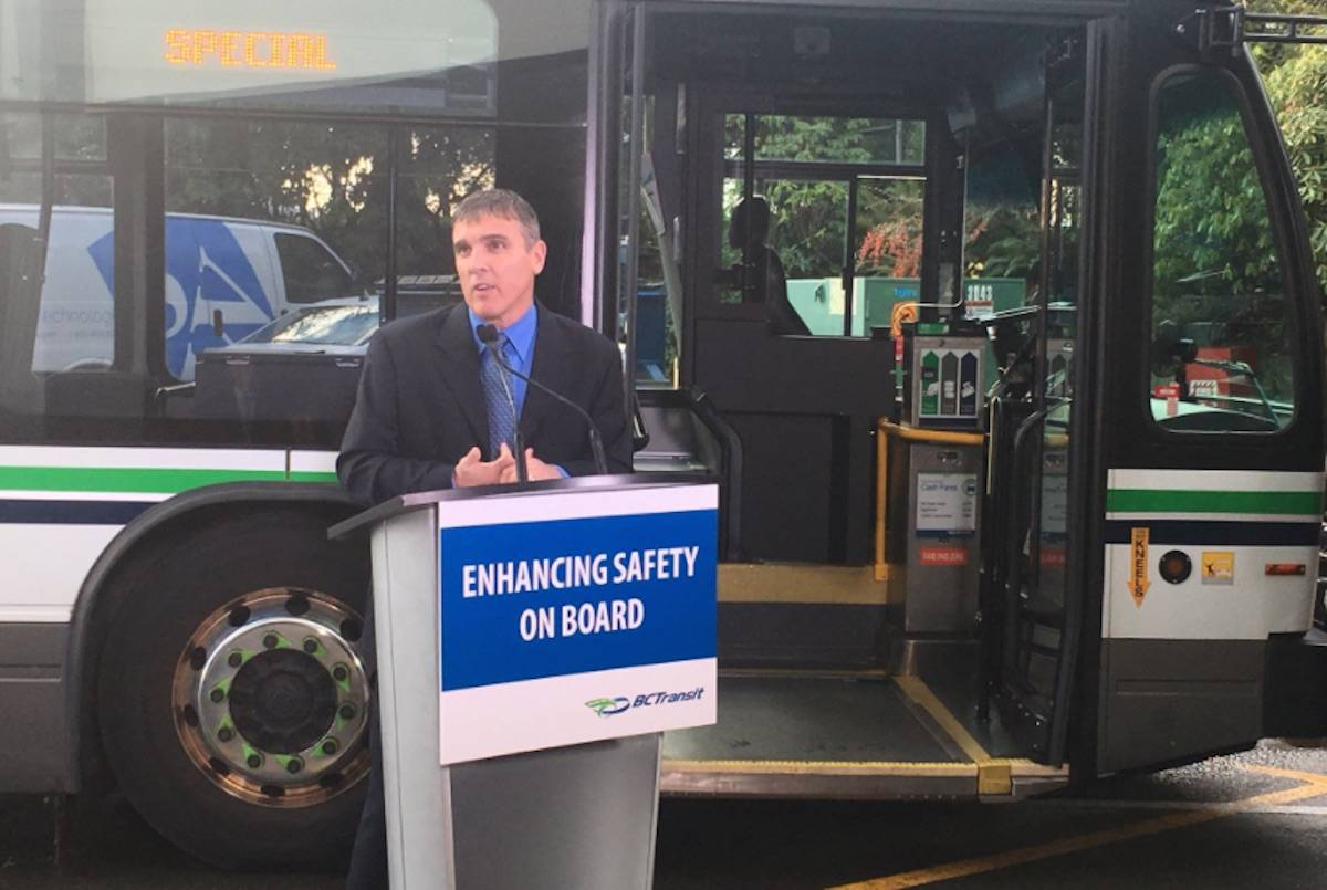 BC Transit buses to get safety door for drivers