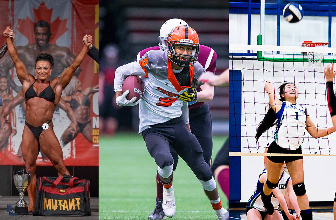 Grit, drive and commitment: B.C.'s most inspirational sports stories of 2017