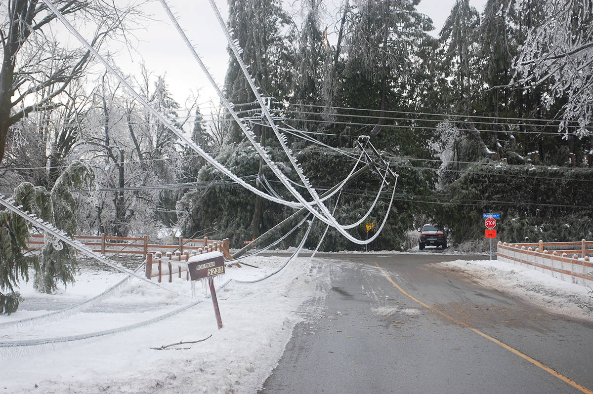 Hydro out for many in Aldergrove area