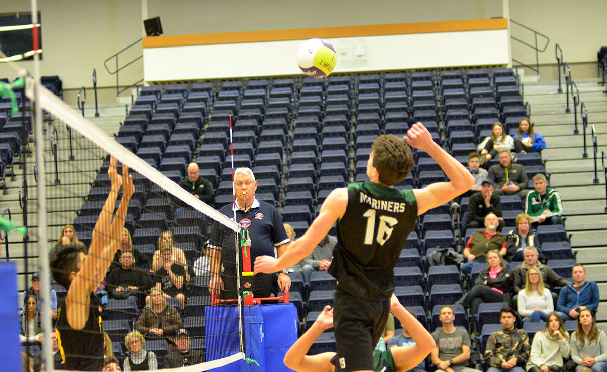 Down to final four at volleyball AAA championships
