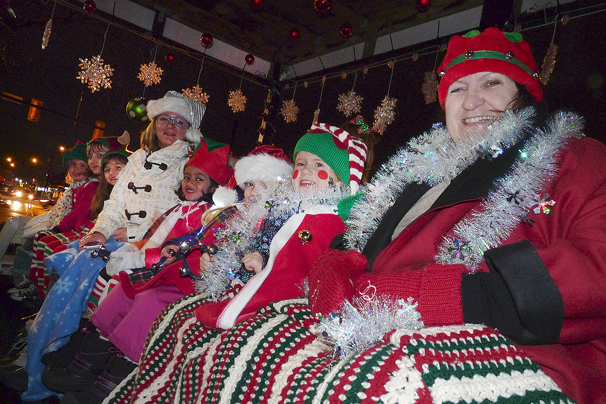 VIDEO: Magic of Christmas parade held in Langley City