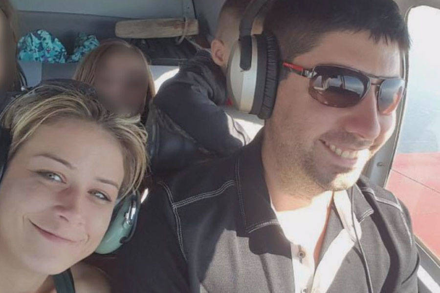 Ashley Bourgeault and Dominic Neron, whose plane went missing a week ago Saturday in the Revelstoke area.
