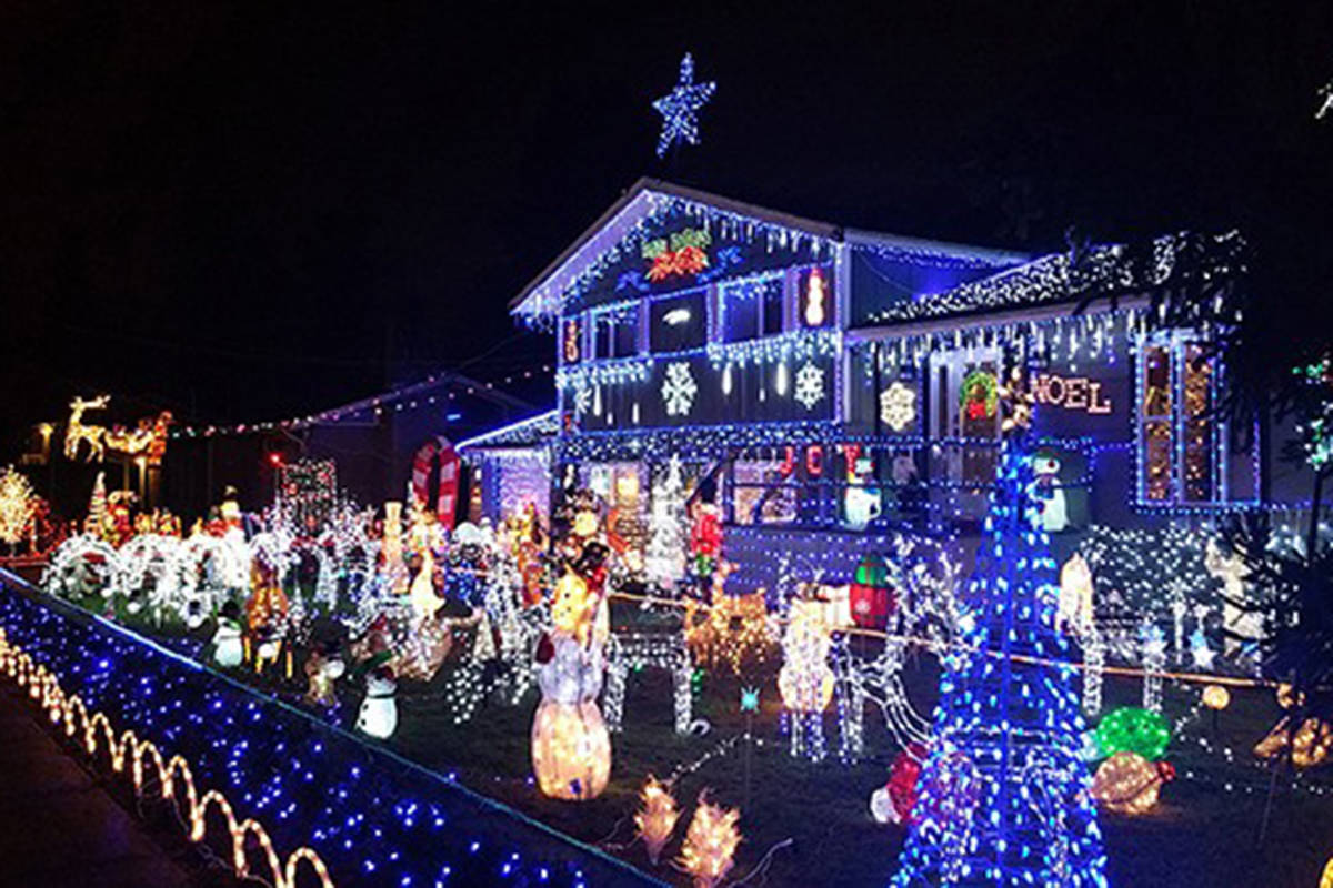 Video And Map Christmas Light Displays In Surrey Beyond