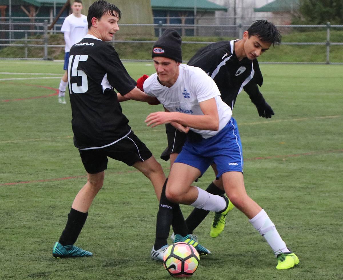 Aldergrove Soccer U18 Boys action photos