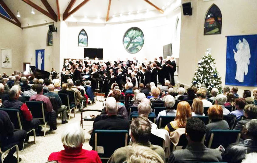 The Langley Community Chorus.