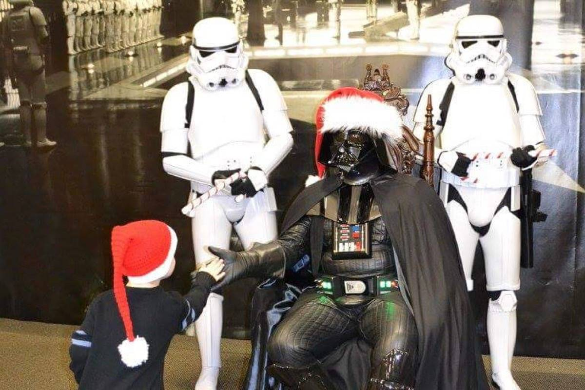 The Force was strong with Vader Santa in Langley