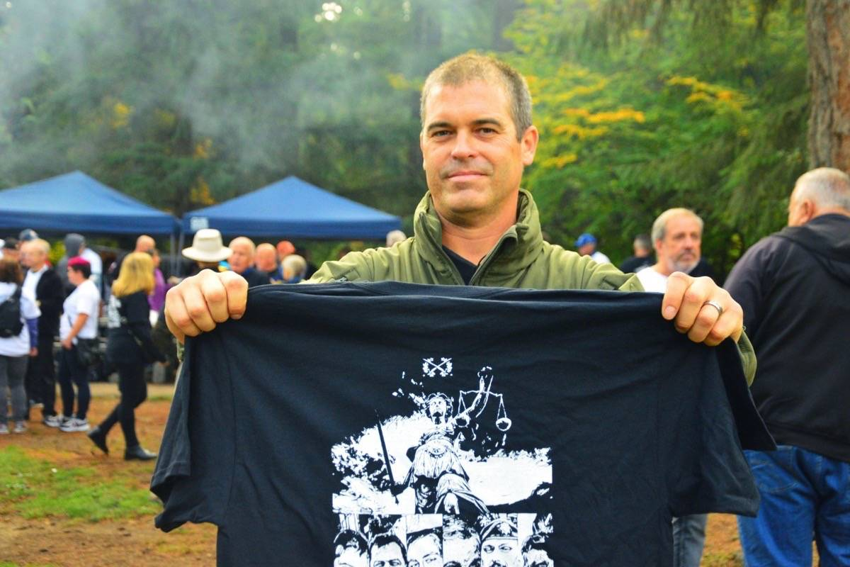 Aaron Bedard is one of the plaintiffs in the Equitas Society's class-action lawsuit. (Katya Slepian/Black Press)