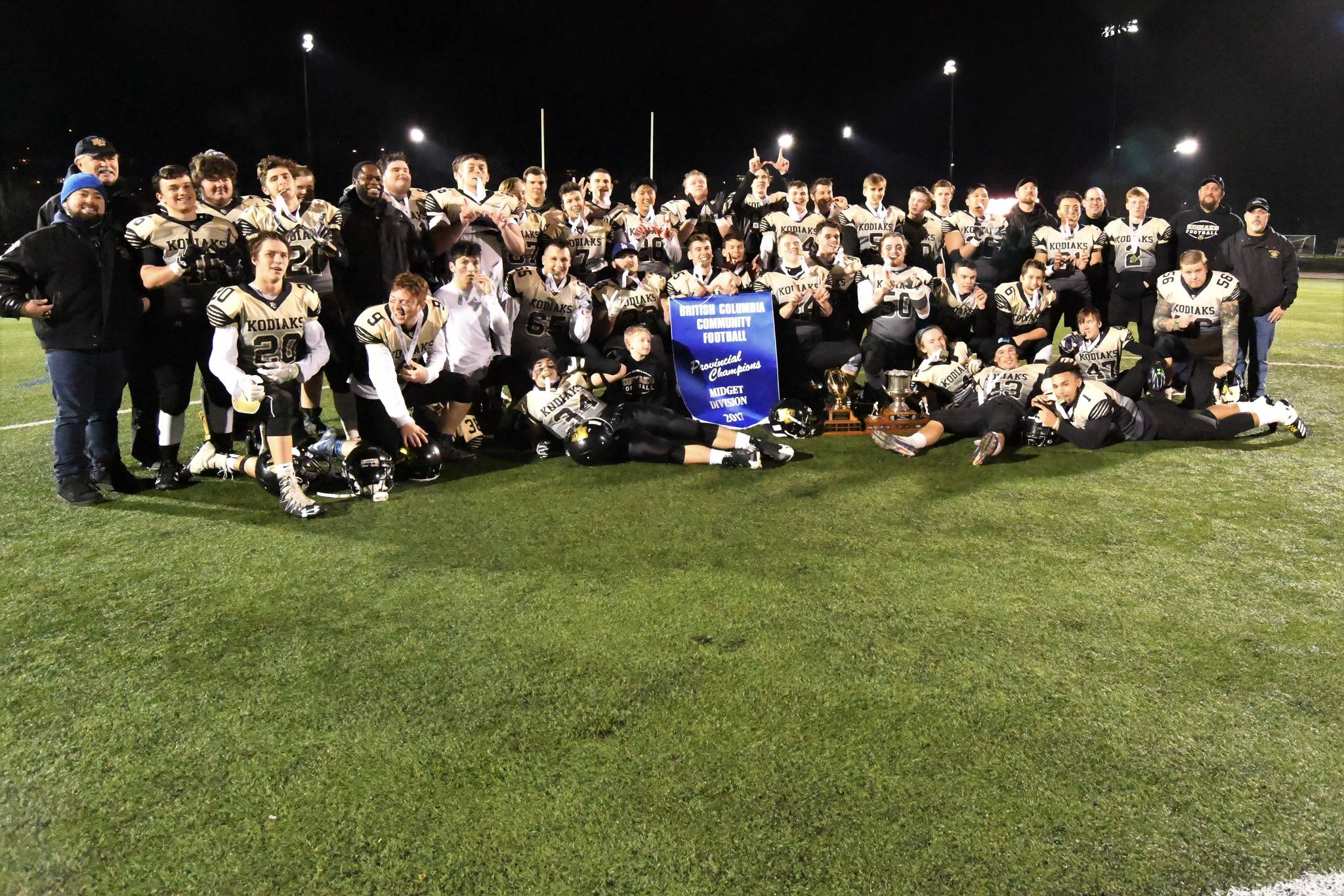 North Langley Kodiaks stand tall, down Bears in championship final