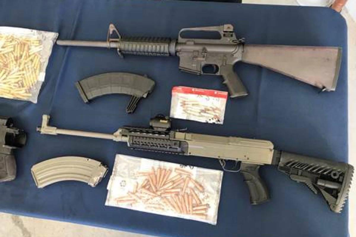 Police seize explosives, guns, marijuana from Langley farmhouse