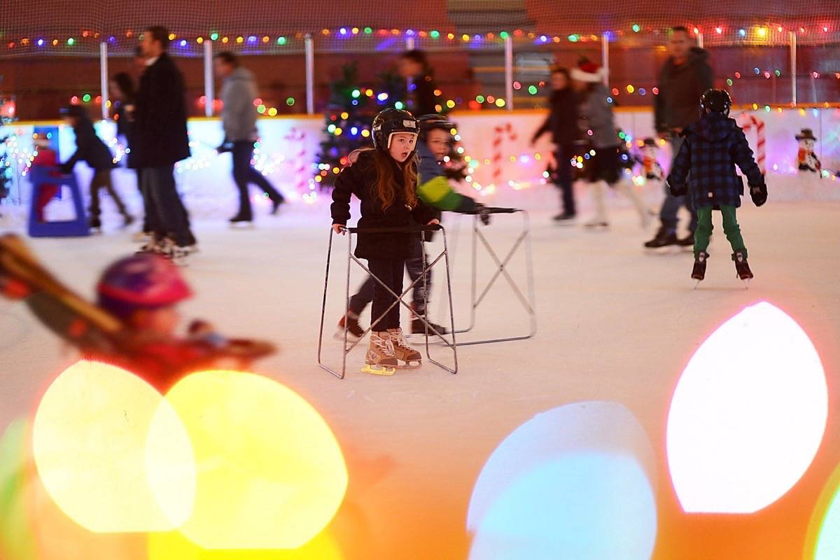 The Winter Ice Palace, pictured here in 2013. (Boaz Joseph / The Surrey Leader)