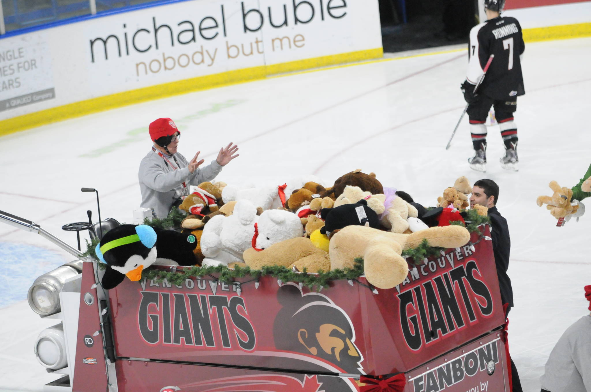 The teddy bears donated will be collected and distributed through the Lower Mainland Christmas Bureau. Gary Ahuja Langley Times file photo