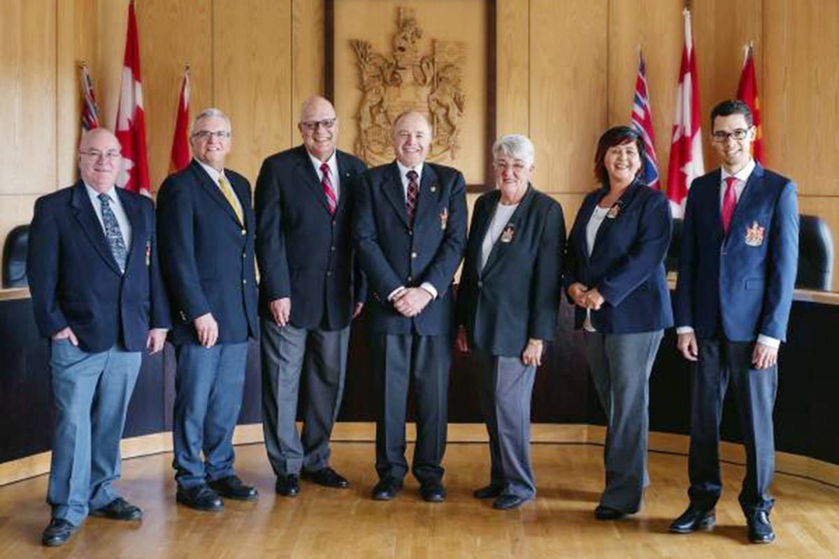 Langley City council. File photo