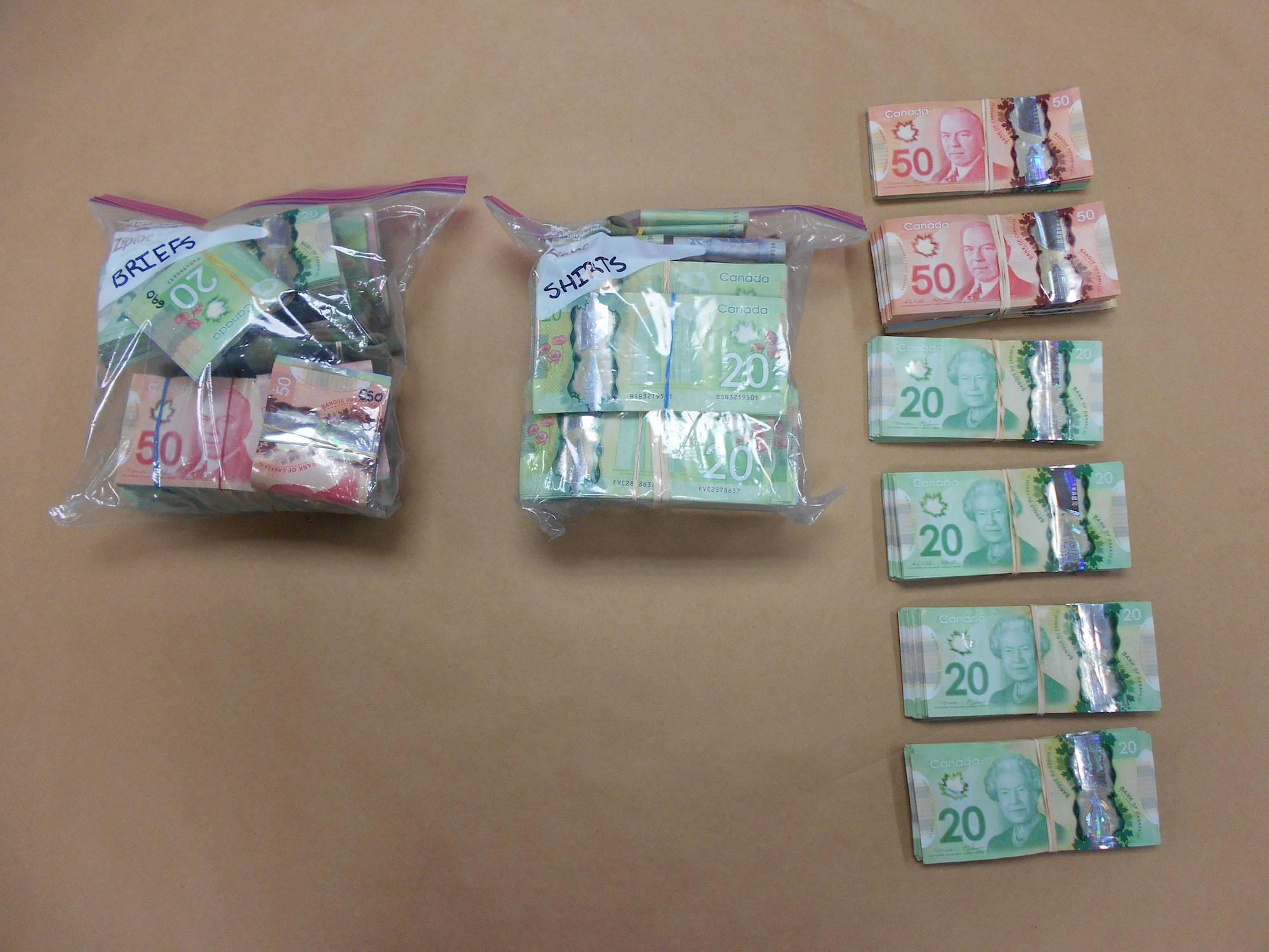 """""""Results of Vehicle Stop. March 30, 2017."""" Image credit: Kamloops RCMP"""