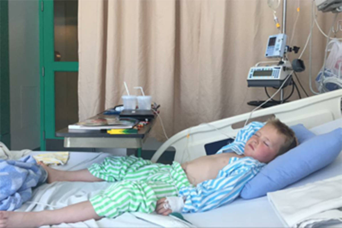Six-year-old boy needs $19,000 a month to treat rare form of arthritis