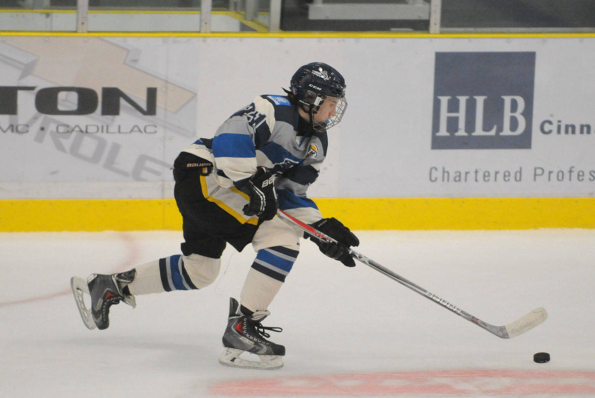 Langley Trappers' Joshua Boelema had a goal in his team's 6-2 victory on Dec. 13 over the Port Moody Panthers. Boelema leads the expansion junior B hockey team in both goals (nine) and points (17). Gary Ahuja Langley Times file photo