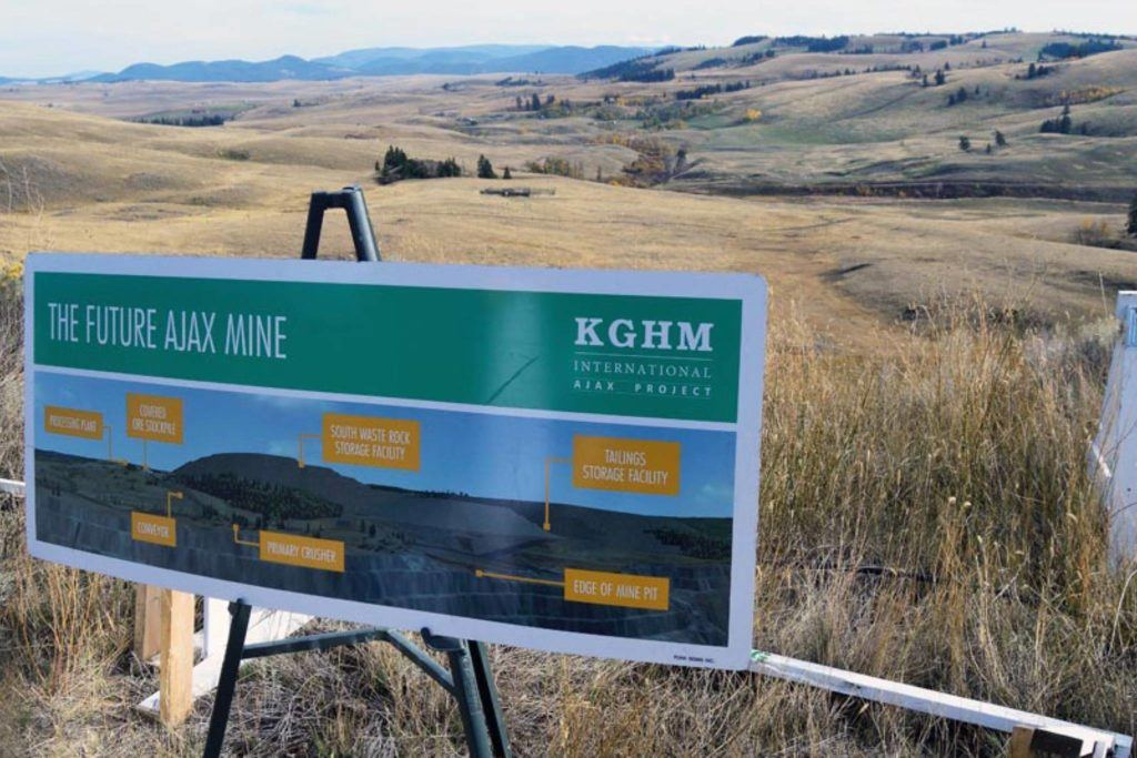 The proposed site of the Ajax mine, south of Aberdeen. (Kamloops This Week file photo)