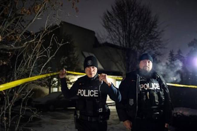 Police secured the home of Apotex founder Barry Sherman and wife, Honey Sherman after they were found dead on Friday, December 15, 2017. THE CANADIAN PRESS/Christopher Katsarov