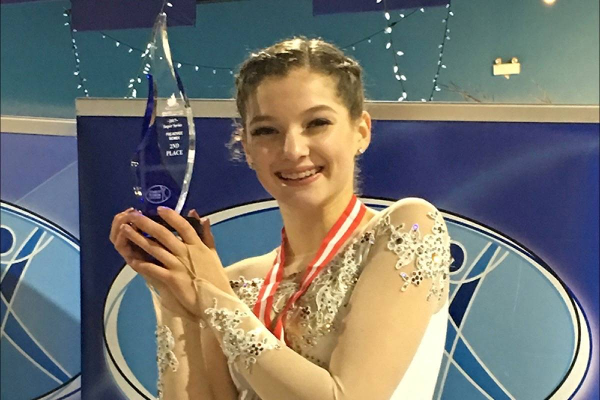 Faith Benko placed third at the Super Series BC/YK Championships, and took home the trophy for Second Overall. (Contributed)