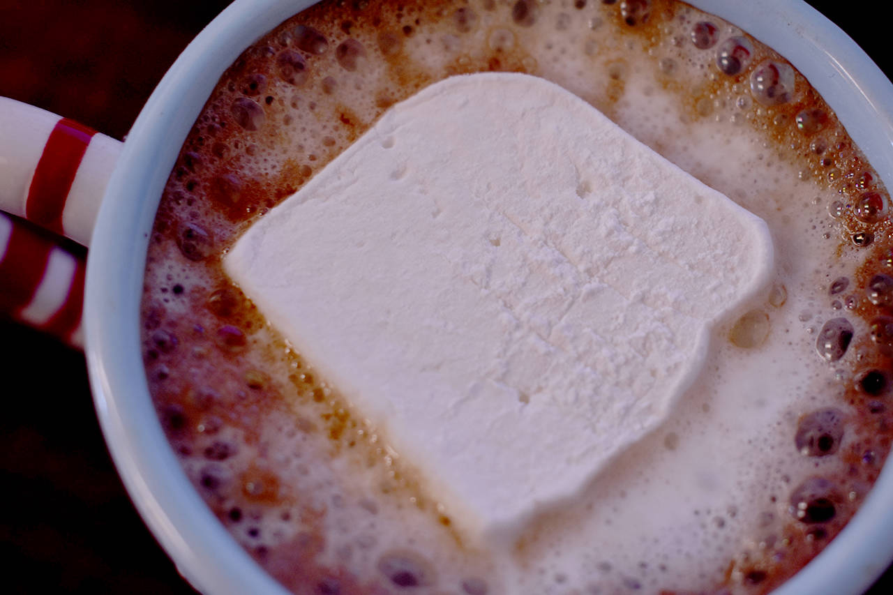 Marshmallows are a surprisingly simple to make, and a nice break from traditional winter baking. (Grace Kennedy photo)