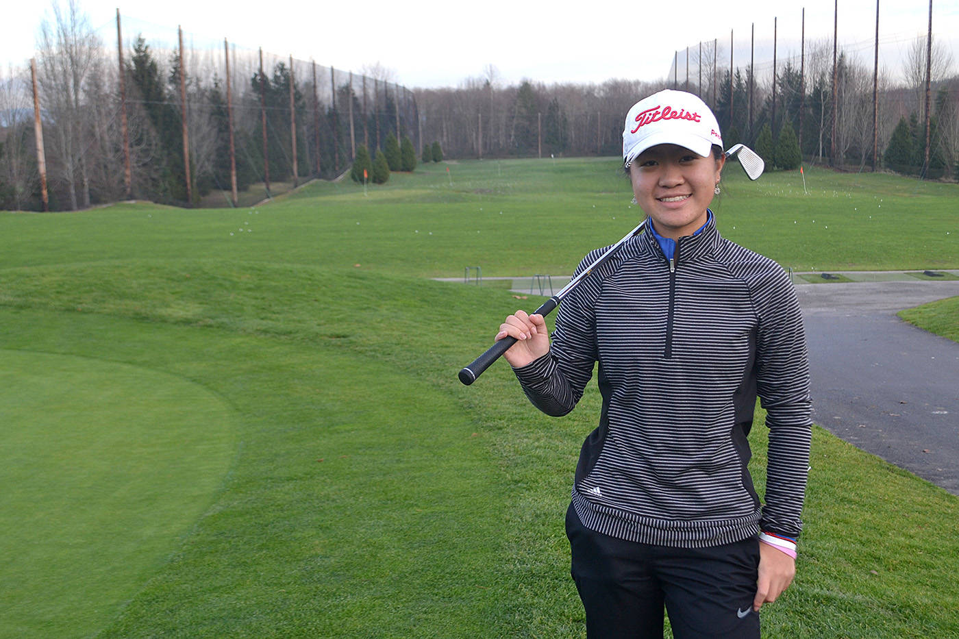 Morgan Creek golfer Susan Xiao is gearing up for a busy 2018 golf season after an impressive string of accomplishments this past year. (Nick Greenizan photo)