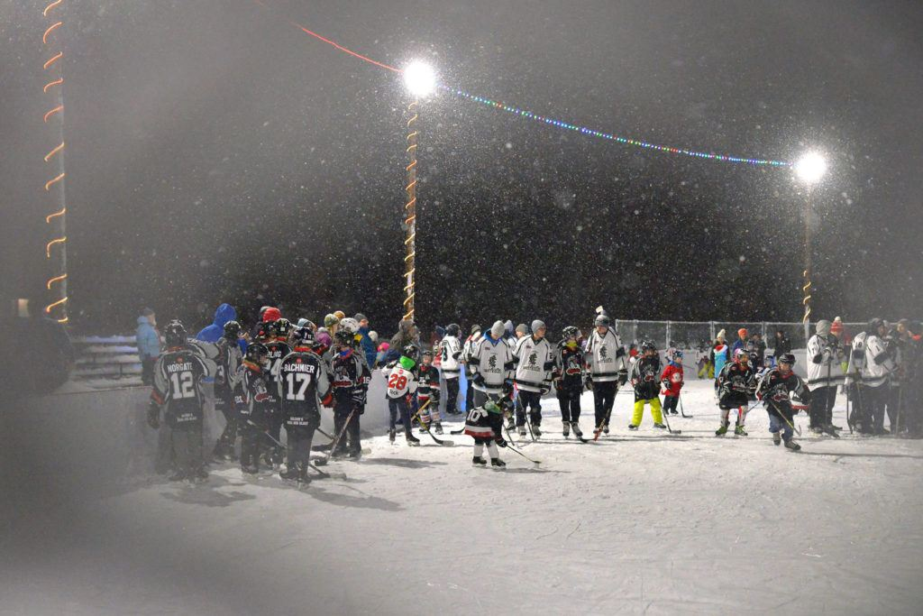 On Thursday, December 21, the Fernie Outdoor Rink officially opened. Phil McLachlan/The Free Press