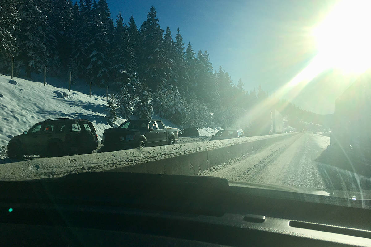 Accidents stall traffic on Coquihalla Highway