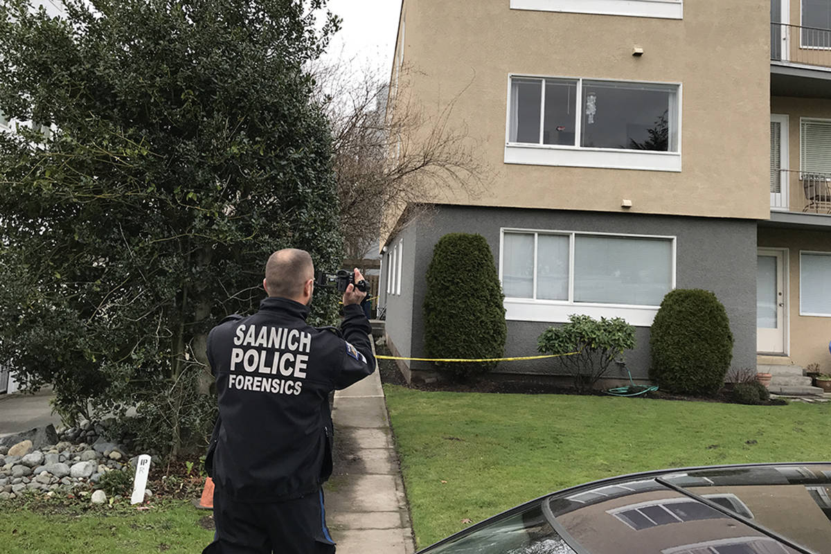 Major Crime Unit confirms that the victims of Oak Bay's double homicide on Christmas Day were two young children, aged four and six. (Keri Coles/Oak Bay News)