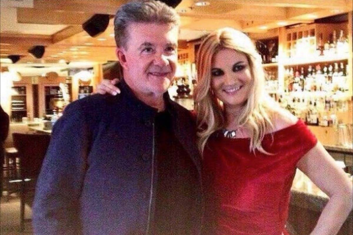 Actor Alan Thicke and Get Cooking with the Stars host Laurie Belle at the Whistler Film Festival. (@getcookingwiththestars / Instagram)