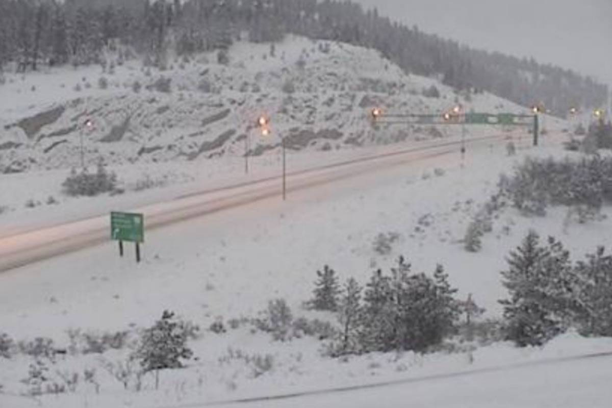 UPDATE: Snowfall warnings issued around B.C.