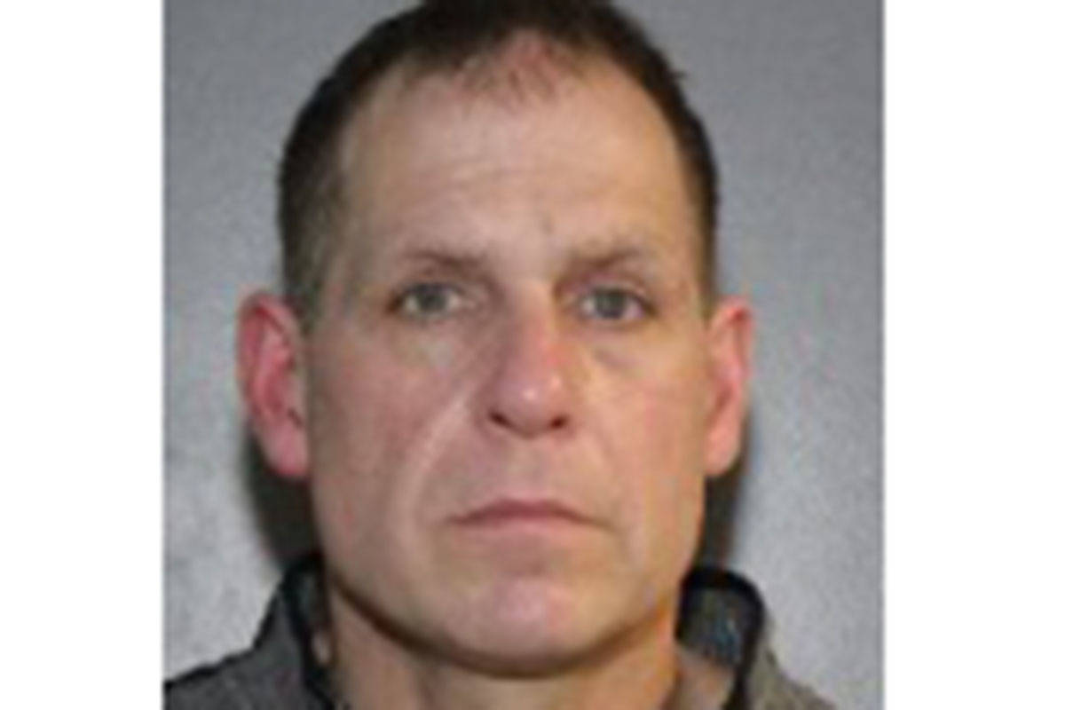 Richard Mantler, 46, is wanted by police after escaping from custody while in hospital Thursday (Dec. 28). (Photo: Surrey RCMP handout)